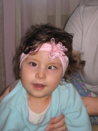 Ганиева Роза-Мария [ДЦП, спастический тетрапарез, задержка психомоторного развития] - изображение №1