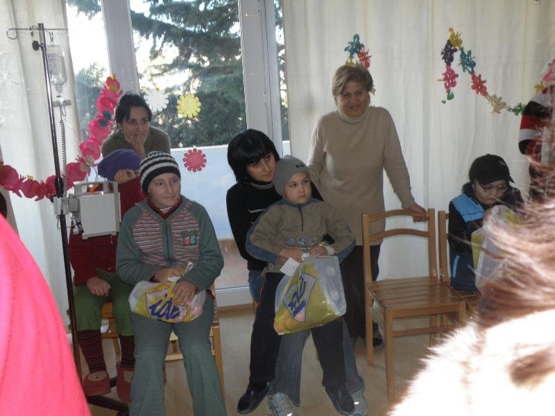 Рождественская акция в Центральной детской больнице им. Иашвили (г. Тбилиси, Грузия) - изображение №3