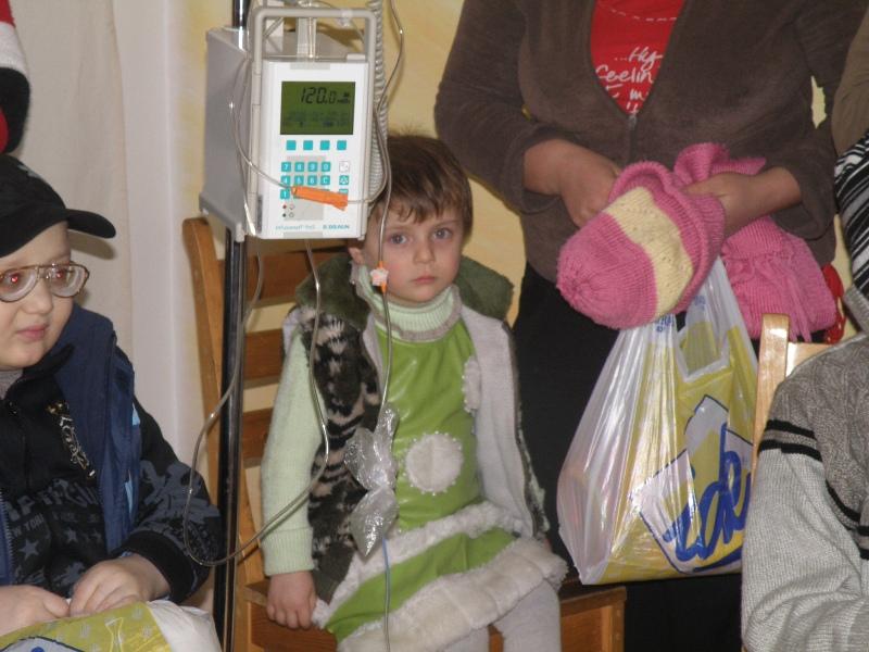 Рождественская акция в Центральной детской больнице им. Иашвили (г. Тбилиси, Грузия) - изображение №4