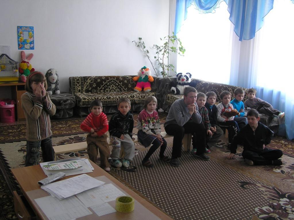 LIKAR.INFUND Помощь детям без родительской опеки. Жмеринка