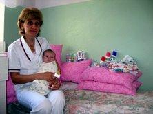 Ореховская ЦРБ, детское отделение. Август - сентябрь 2008 - изображение №1